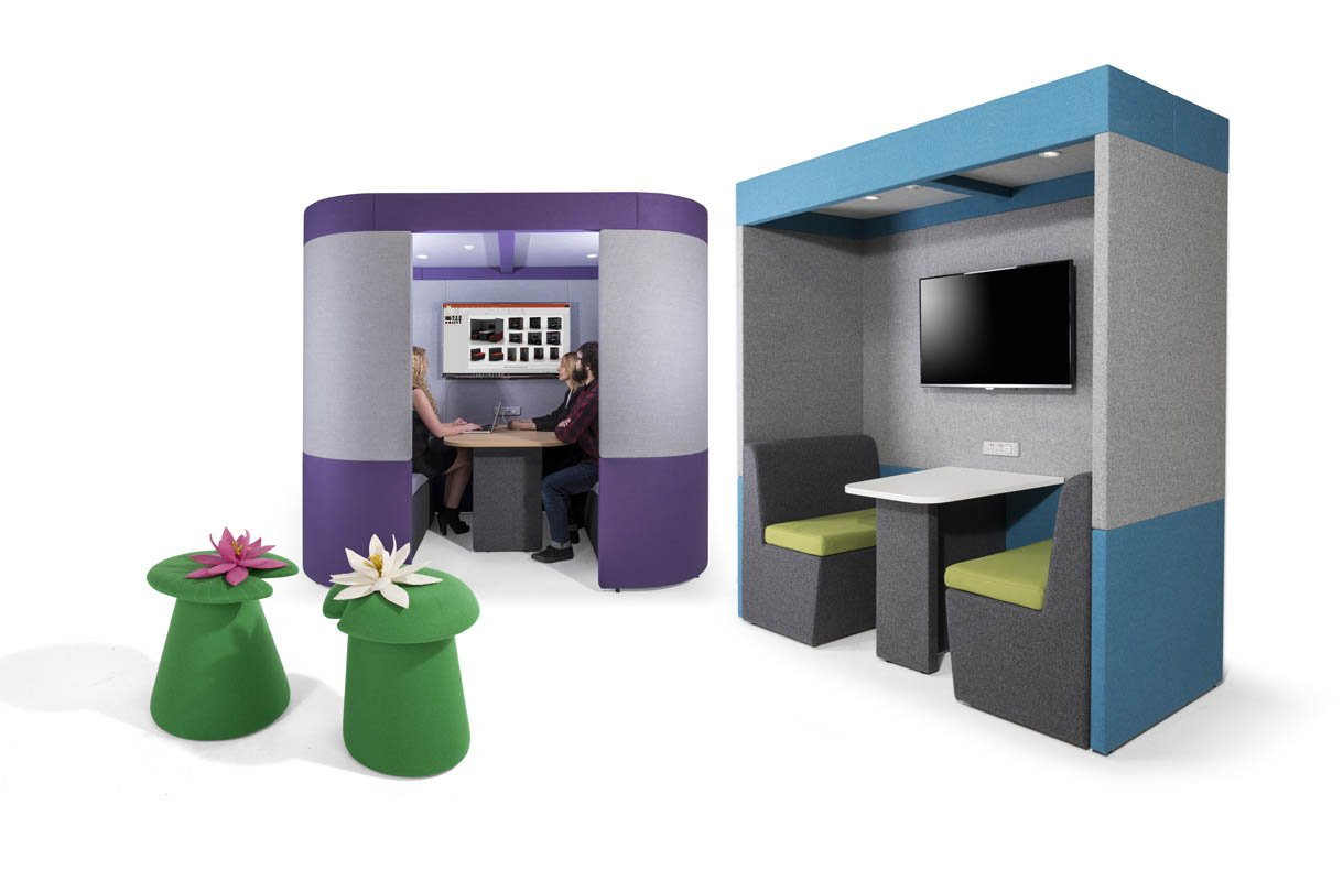 Zen Breakout meeting booth