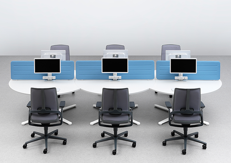 Orb Round Desk System..a new way of working...