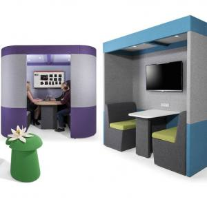 Screen Systems & Meeting Pods